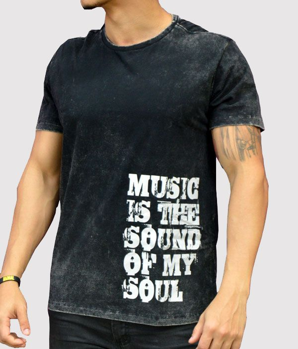 Camiseta Music Is The Sound Of My Soul