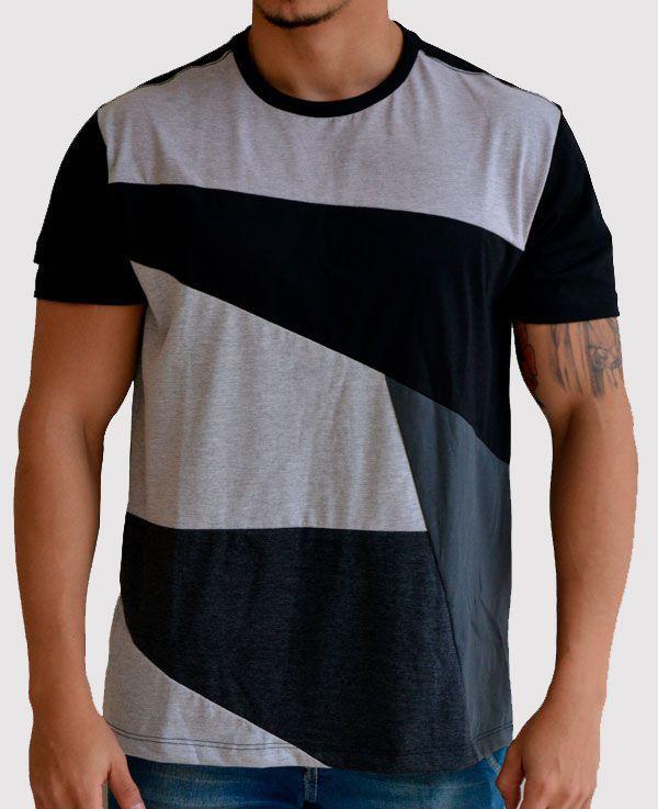Camiseta Recortes Esq