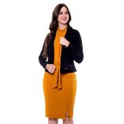 Blazer Antonia Em Tecido New Crepe, Moda Evangélica - Hapuk