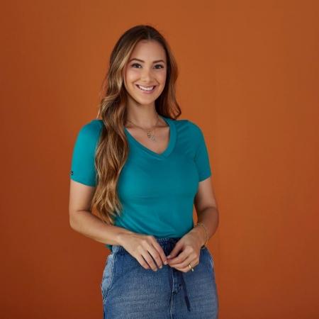 Blusa Bella De Malha, Moda Evangélica - Tatá Martello