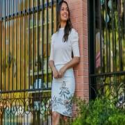 Blusa De Viscose Branca - Jany Pim