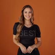 Blusa Sara de Malha Viscolycra, Moda Evangélica - Tatá Martello