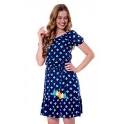 Vestido Flora em Tecido Viscose Estampada, Moda Evangélica - Hapuk