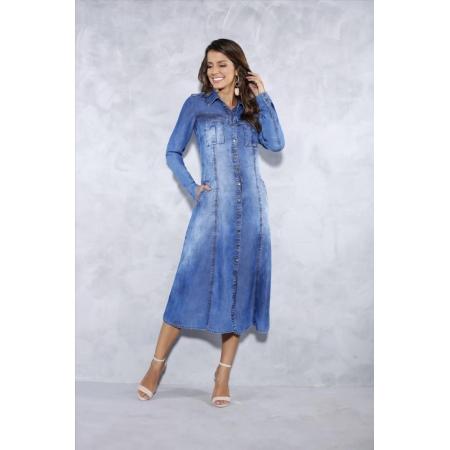 Vestido Jeans - Titanium