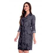 Vestido Marina De Viscose Com Tie Dye, Moda Evangélica - Hapuk