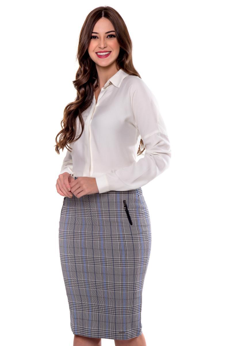 Blusa Sonia De Viscose, Moda Evangélica - Hapuk