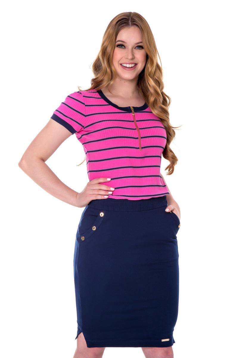 Conjunto izabel de Malha Viscolicra Premium, Moda Evangélica - Hapuk