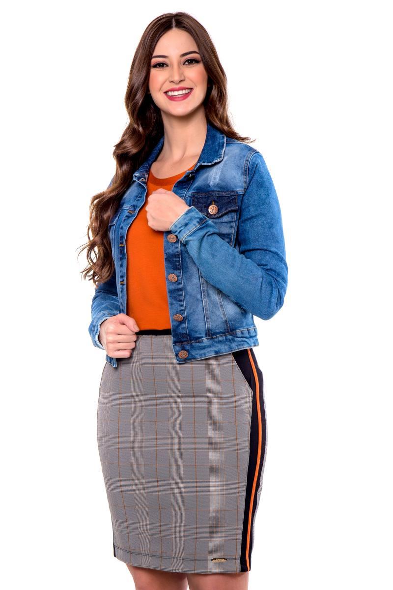 Jaqueta ana jeans, moda evangélica - hapuk