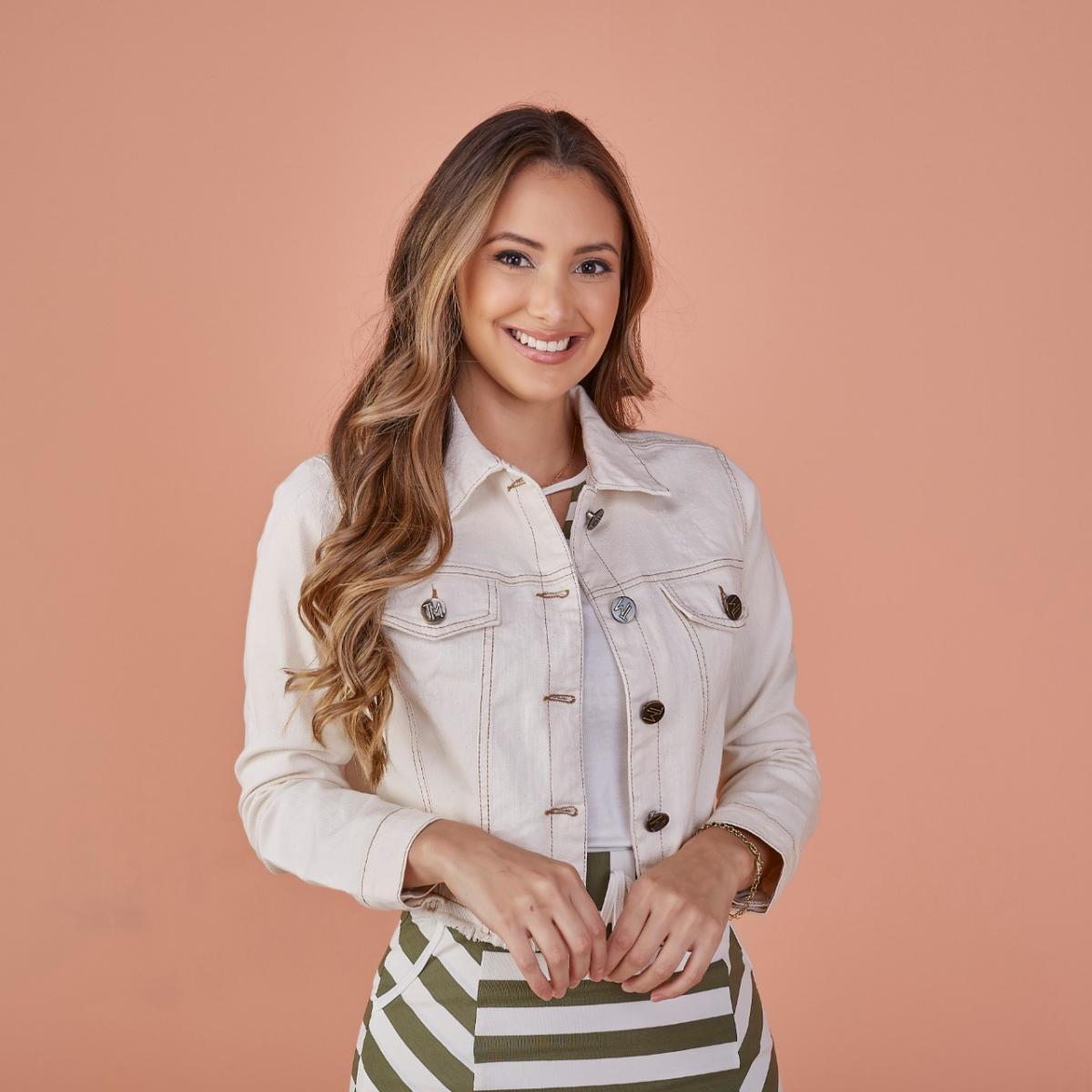 Jaqueta Jeans Brenda, Moda Evangélica - Tatá Martello