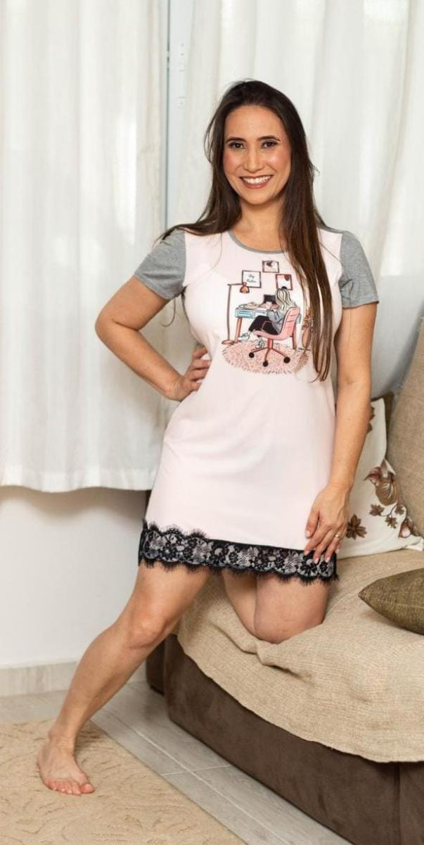 Long Shirt Dreans, Moda Evangélica -  Victórias Princess