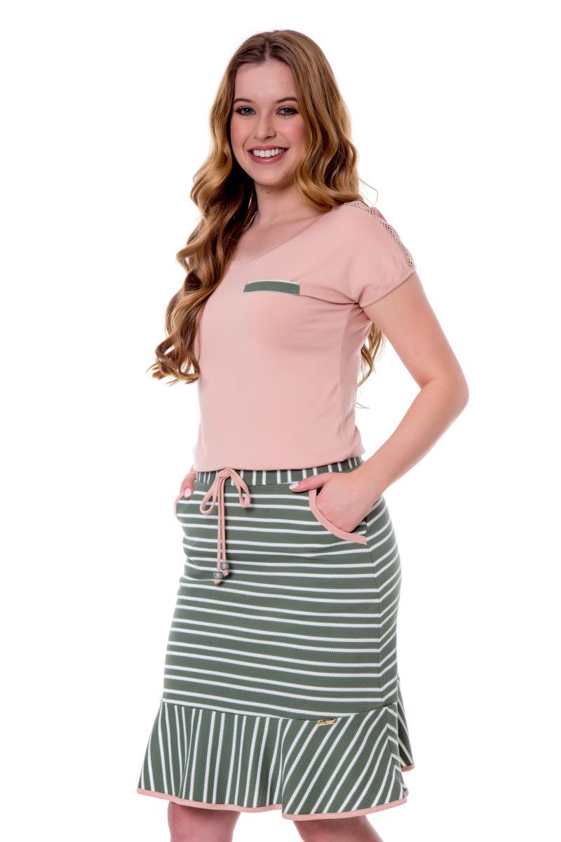 Vestido Amabel De Malha, Moda Evangélica - Hapuk
