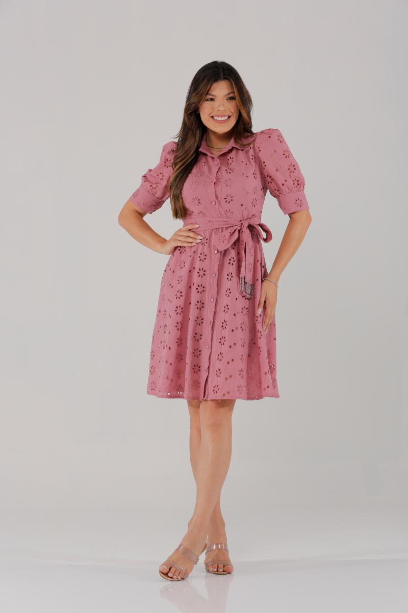 Vestido De Lese, Moda Evangélica - Victorias Princess