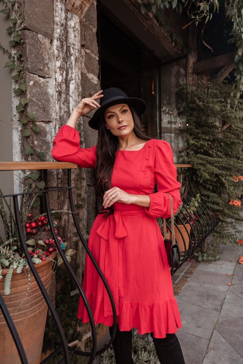 Vestido Patricia De Viscolinho, Moda Evangélica - Jany Pim