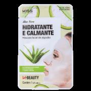 Máscara Facial Aloe Vera Hidratante e Calmante - Kiss New York