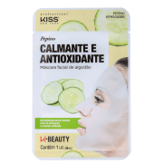 Máscara Facial Pepino Calmante e Antioxidante - Kiss New York