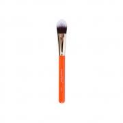 Pincel Profissional Língua de Gato para Base Linha Beauty Tools BT07 Macrilan