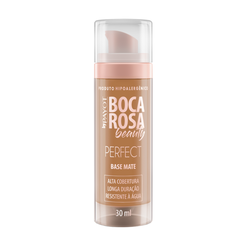 Base Matte Boca Rosa Beauty by Payot - Payot  - Caroline Gil Cosméticos