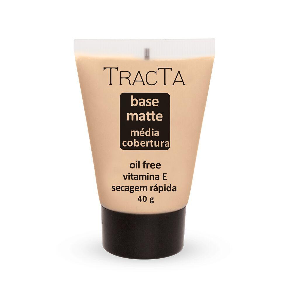Base Matte Média Cobertura - Tracta  - Caroline Gil Cosméticos