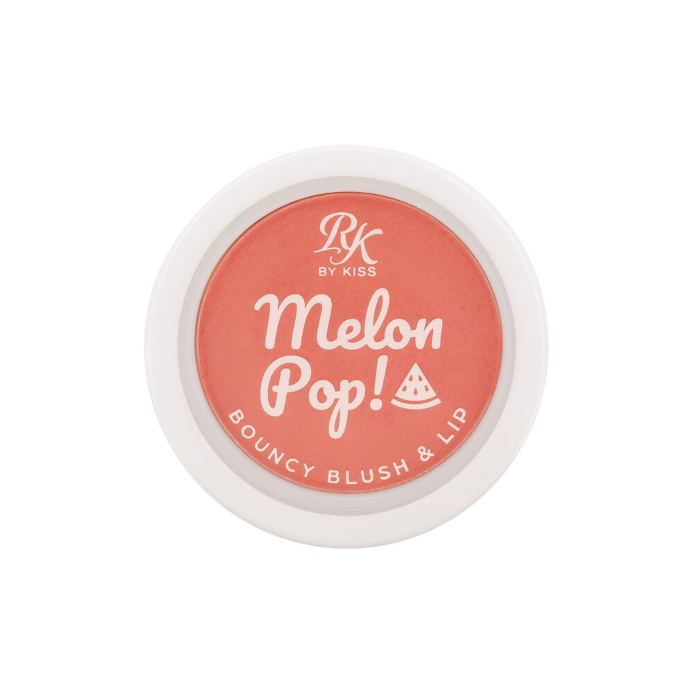 Blush Lip Bouncy Melon Pop RK By Kiss  - Caroline Gil Cosméticos