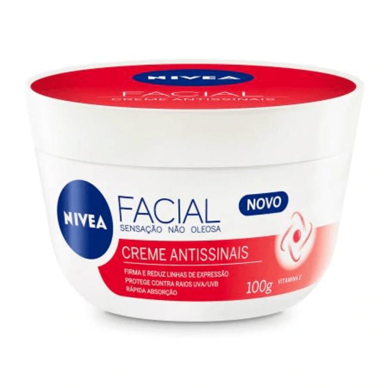 Creme Facial Antissinais 100g - Nivea  - Caroline Gil Cosméticos