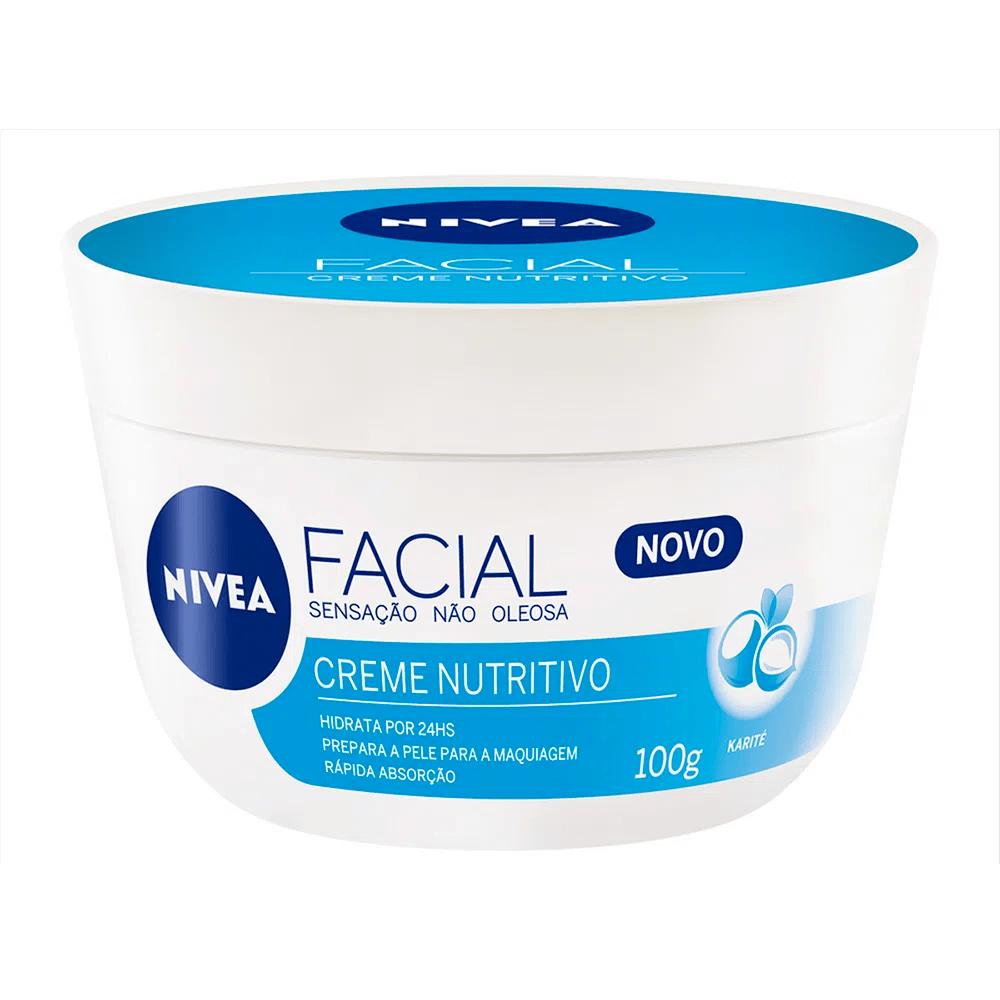Creme Facial Nutritivo 100g - Nivea  - Caroline Gil Cosméticos