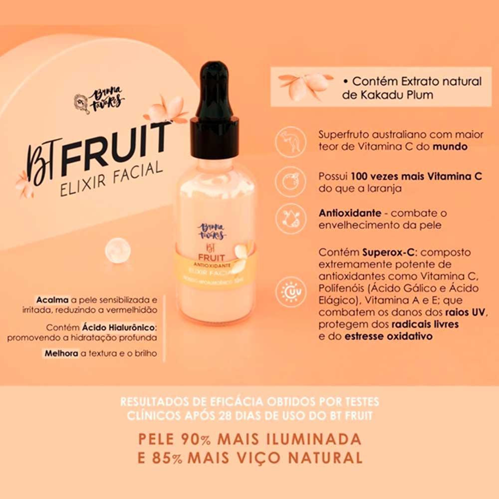 Elixir Facial Antioxidante BT Fruit Bruna Tavares  - Caroline Gil Cosméticos