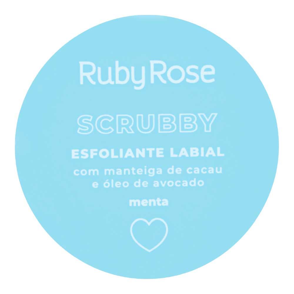 Esfoliante Labial Scrubby Ruby Rose  - Caroline Gil Cosméticos