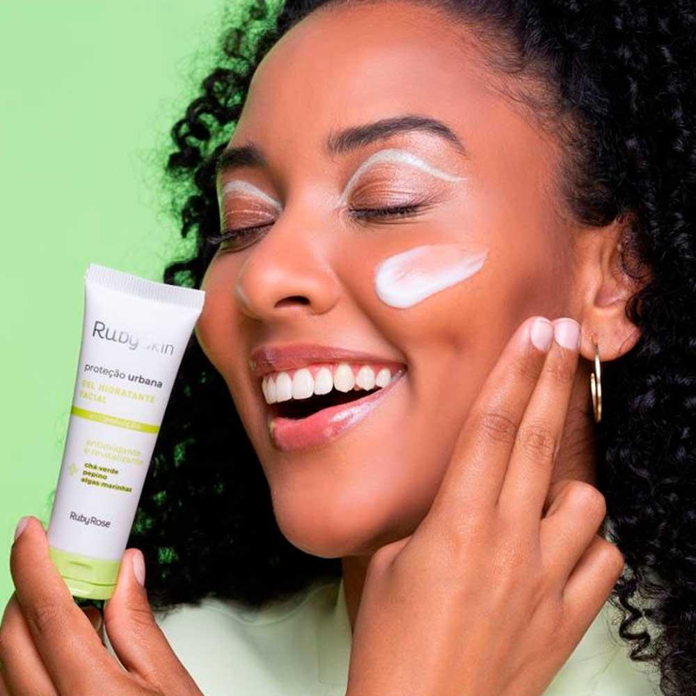 Gel Hidratante Facial Proteção Urbana Ruby Rose  - Caroline Gil Cosméticos