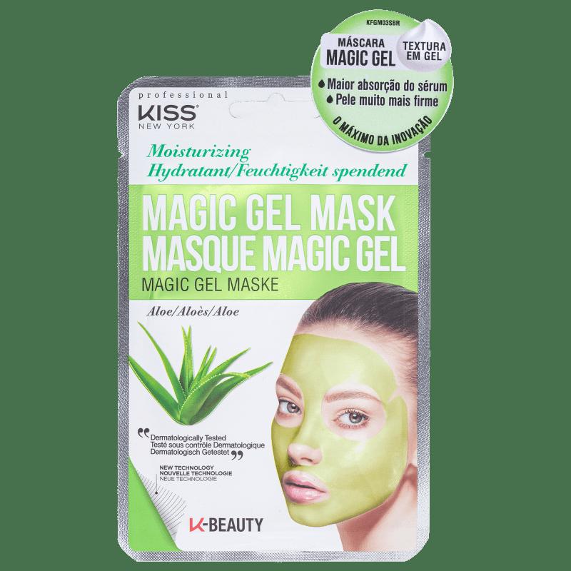 Máscara Facial Magic Gel Aloe - Kiss New York  - Caroline Gil Cosméticos