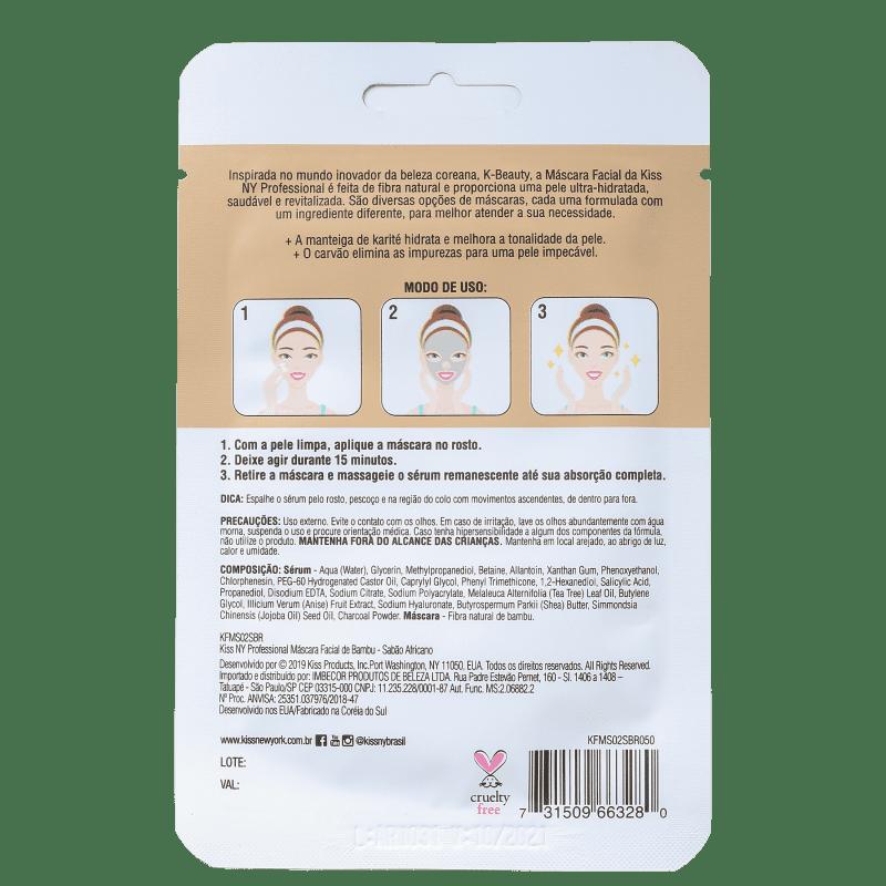 Máscara Facial Sabão Purificante - Kiss New York  - Caroline Gil Cosméticos