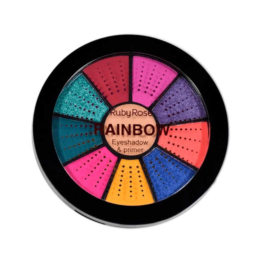 Mini Paleta De Sombras Rainbow Ruby Rose