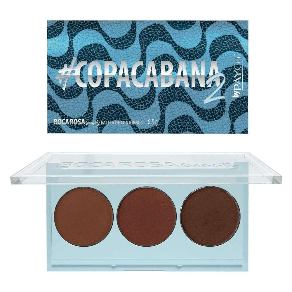 Paleta Contorno #Copacabana 2 - Boca Rosa Beauty  - Caroline Gil Cosméticos
