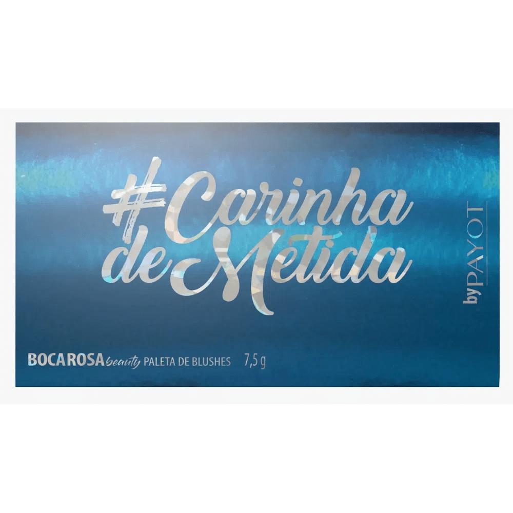 Paleta de Blush #CarinhaDeMetida Boca Rosa Beauty  - Caroline Gil Cosméticos