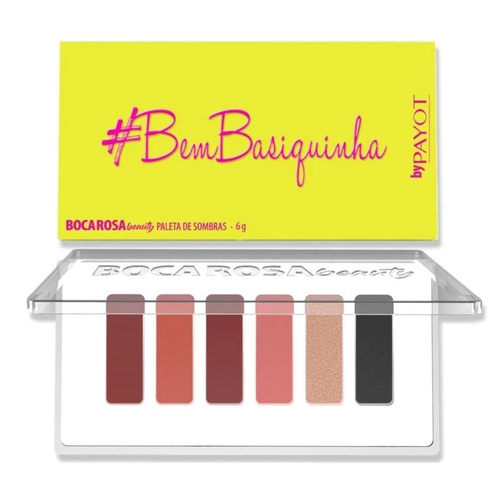 Paleta De Sombras #Bembasiquinha Boca Rosa Beauty  - Caroline Gil Cosméticos