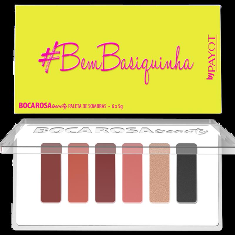 Paleta De Sombras #Bembasiquinha Boca Rosa Beauty by Payot  - Caroline Gil Cosméticos