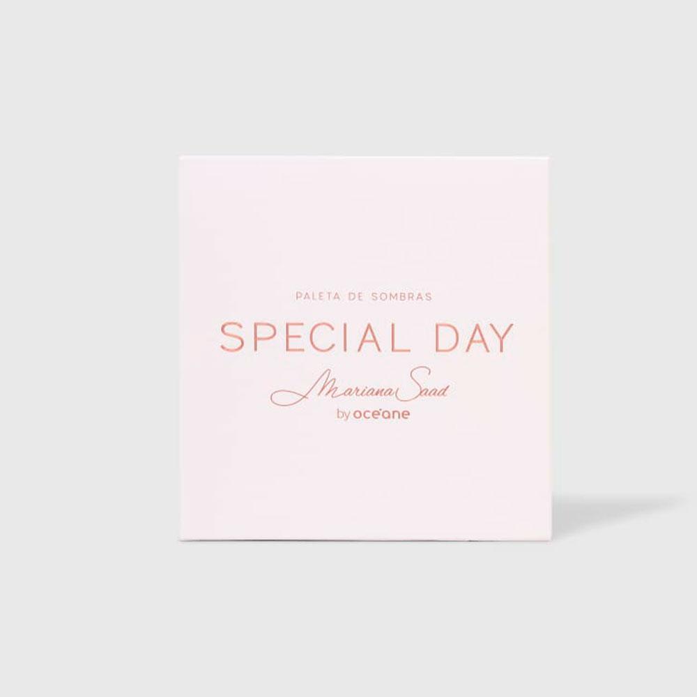 Paleta de Sombras Special Day Mariana Saad By Océane  - Caroline Gil Cosméticos