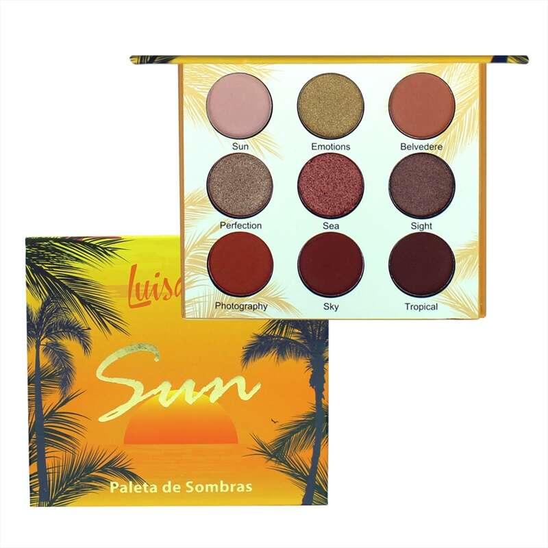 Paleta de Sombras Sun - Luisance  - Caroline Gil Cosméticos