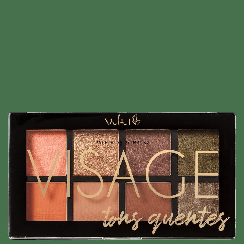 Paleta de Sombras Visage - Vult   - Caroline Gil Cosméticos