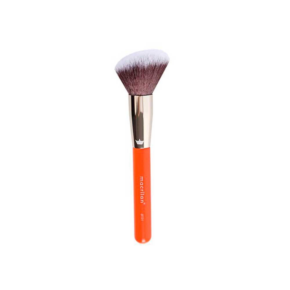 Pincel Profissional para Pó Linha Beauty Tools BT01 Macrilan  - Caroline Gil Cosméticos