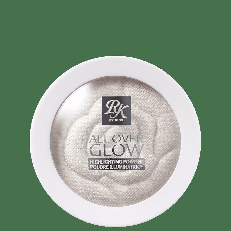 Pó Facial Iluminador All Over Glow - Rk by Kiss  - Caroline Gil Cosméticos