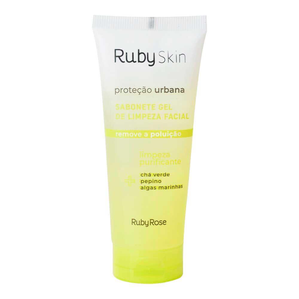 Sabonete Gel de Limpeza Proteção Urbana Ruby Skin Ruby Rose  - Caroline Gil Cosméticos