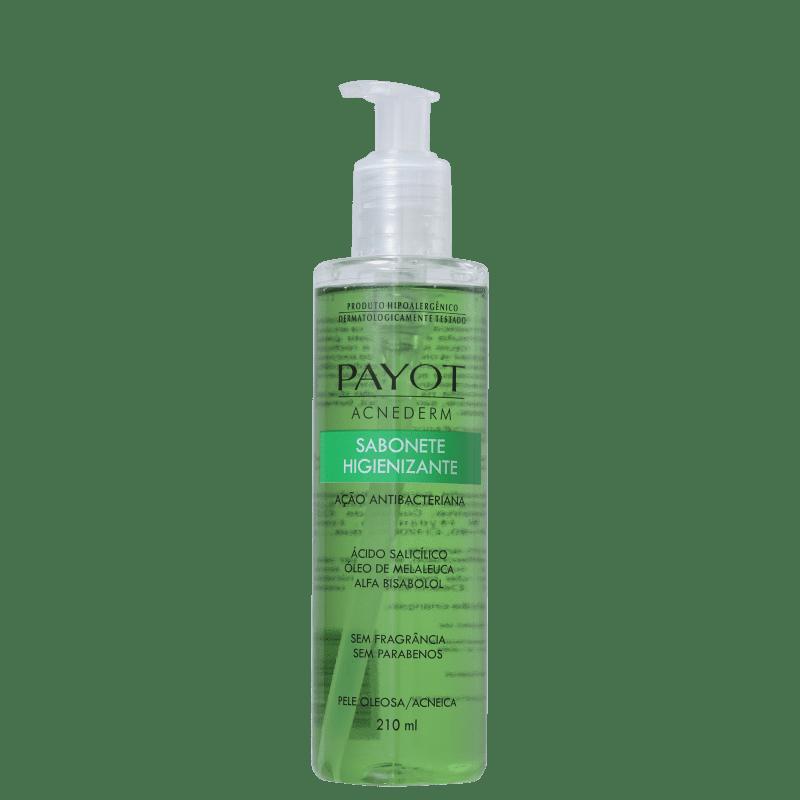 Sabonete Líquido Facial Higienizante Acnederm 210ml - Payot  - Caroline Gil Cosméticos