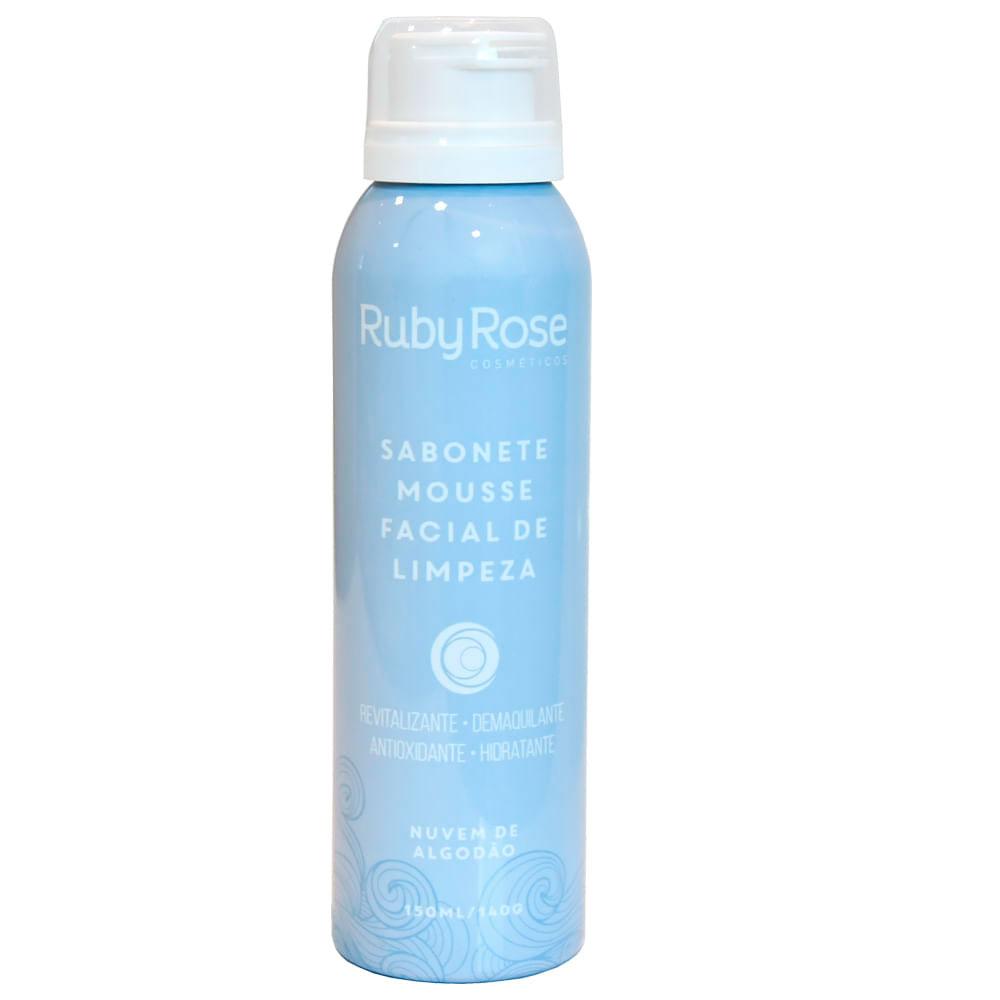 Sabonete Mousse Facial de Limpeza Nuvem de Algodão Ruby Rose
