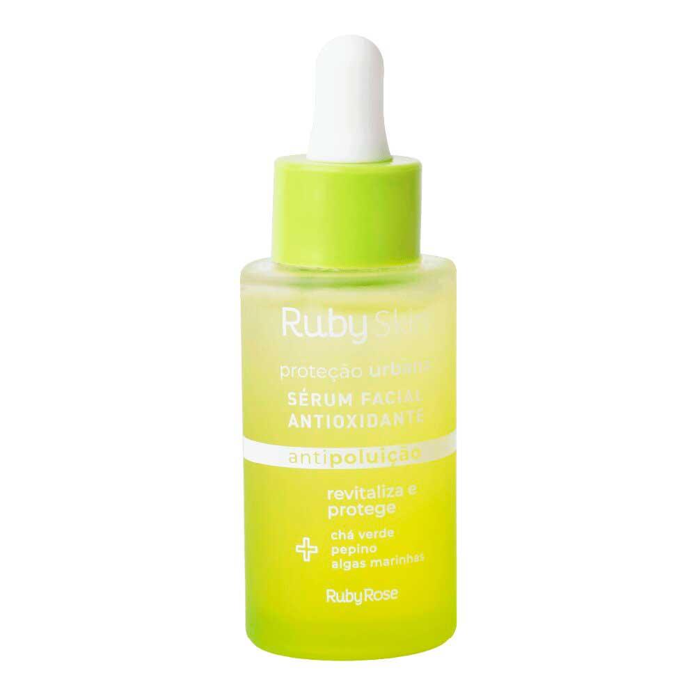 Sérum Facial Antioxidante Proteção Urbana Ruby Skin Ruby Rose  - Caroline Gil Cosméticos