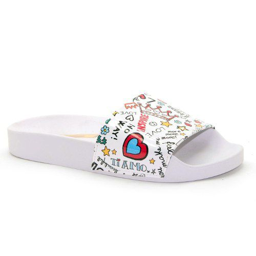 Chinelo Molekinha Slide Love - 2311100