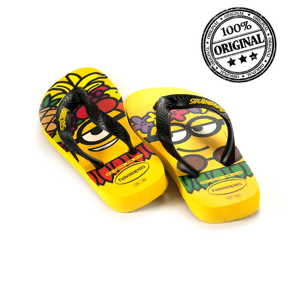 CHINELO HAVAIANAS MINIONS INFANTIL- 4133167