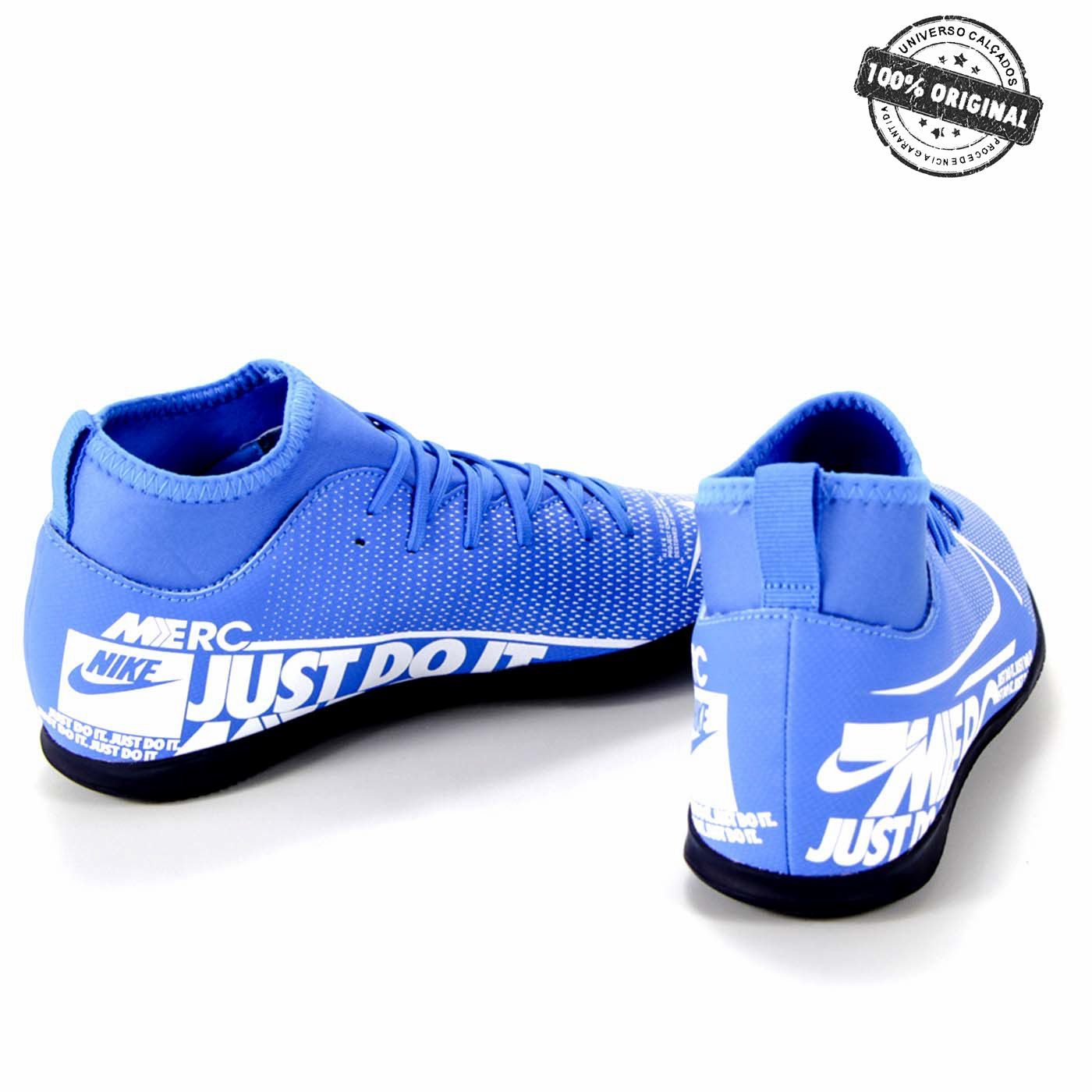 CHUTEIRA NIKE FUTSAL JR SUPERFLY 7 CLUB IC - AT8153