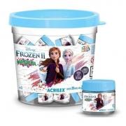 Balde Kimeleka Slime Frozen 2 Com 30 Potinhos 25G - Acrilex