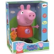 Brinquedo Infantil Peppa com Atividades Peppa Pig Elka 1097