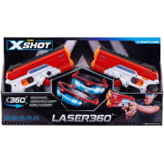 Lançador Eletrônico Zuru X-Shot Laser 360 Graus Candide 5610